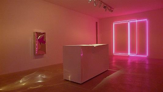installation view 'instant karma' at laleh june galerie basel by lori hersberger