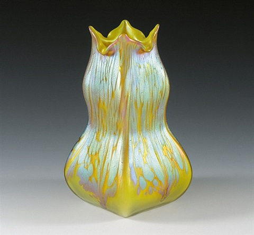vase by lötz (witwe) johann