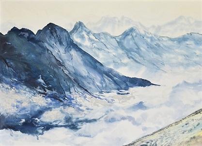 peaks in the clouds by shelly malkin