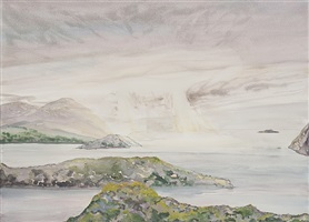 light on the fjord by shelly malkin