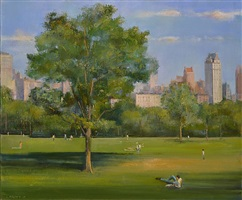 central park afternoon by lawrence kelsey