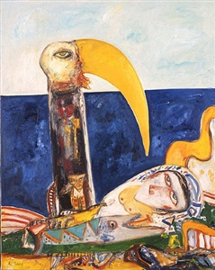 the poet by john bellany