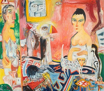 enigmatic vision by john bellany
