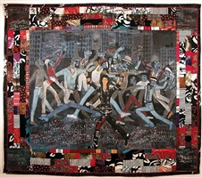 who's bad? by faith ringgold