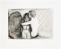 trøst (consolation) by edvard munch