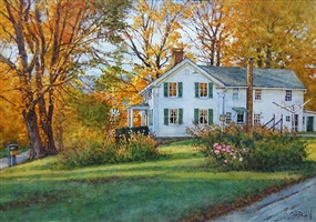 newton's farmhouse (sold) by deborah l. chabrian