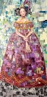 madam's purple dress by rimi yang