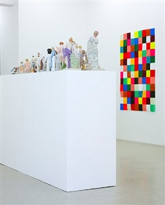 installation shot of the exhibition 'body search' by wiedemann/mettler