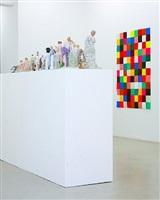 installation shot of the exhibition 'body search' by wiedemann/mettler