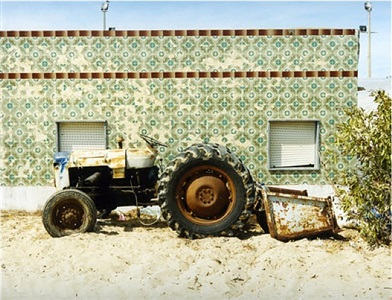 tractor #1, from the series culatra by joachim brohm
