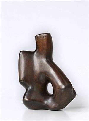 sitzende figur by karl hartung