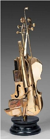 violon cubiste by arman