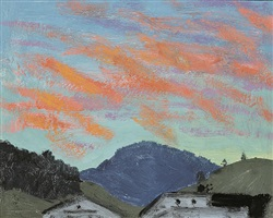 abendrot bei kitzbühel by alfons walde