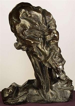 don quijote halva (don quixote head) by otto gutfreund