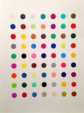 phalloidin (theories, models, methods, approaches, assumptions, results and findings) by damien hirst