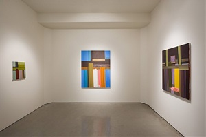 installation view - john millei: anthropomorphic abstraction