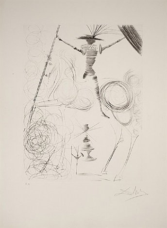 don quichotte by salvador dalí