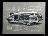 1933 motor vehicle-dymaxion car by buckminster fuller
