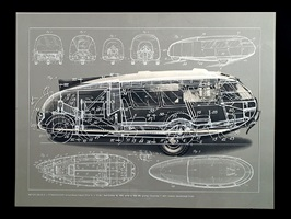 1933 motor vehicle-dymaxion car by buckminster fuller
