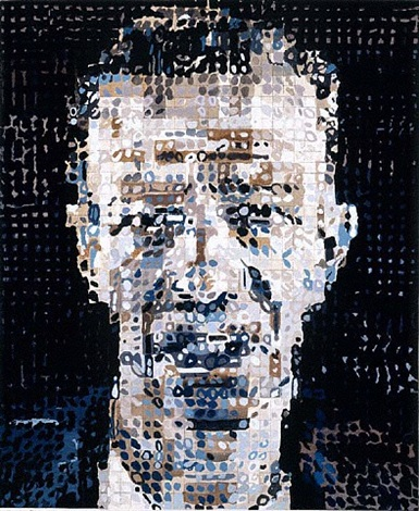 alex by chuck close
