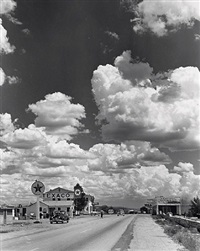 route 66, seligman, arizona by andreas feininger