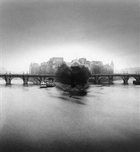 ile de la cité (merci hcb), paris, france by michael kenna