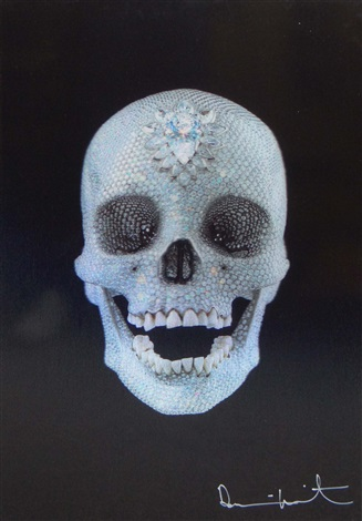 for the love of god lenticular by damien hirst