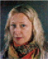 cindy by chuck close