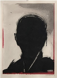 untitled (shadow painting) by richard hambleton