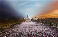 inauguration 2013, washington d.c., from the day to night series by stephen wilkes