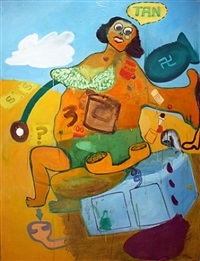 girl #1 by peter saul
