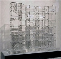 transparent sculpture by louise nevelson