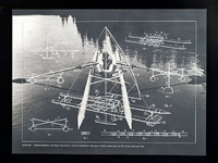 1968 watercraft-rowing needles by buckminster fuller