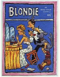 blondie - hurry up by leslie lew