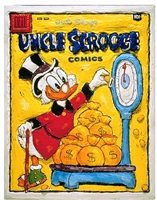 uncle scrooge by leslie lew