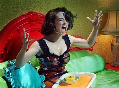 actress #6 by miles aldridge