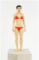 ohne titel (bikini) by stephan balkenhol