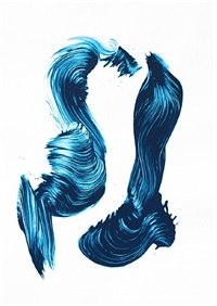 three aces - blue by james nares