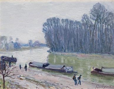 impressionist masters degas, monet, pissarro, renoir, sisley by alfred sisley