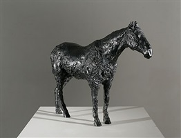 black horse by nicola hicks