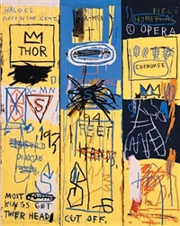 charles the first by jean-michel basquiat