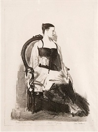 elsie (elsie speicher) by george wesley bellows