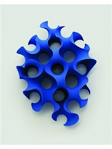 blue form by merete rasmussen