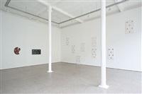 niele toroni - installation view by niele toroni