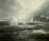 clearing after the storm by william trost richards