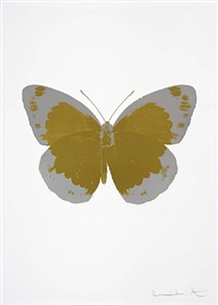 the souls ii - oriental gold and silver gloss by damien hirst