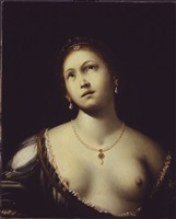 lucretia (?) by francesco del cairo