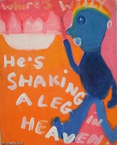 shaking a leg in heaven by jack micheline