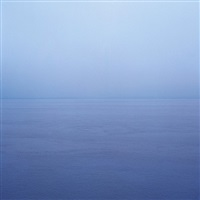 sections of england: the sea horizon no 11, 1976-7 by garry fabian miller