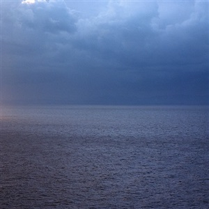 sections of england: the sea horizon no 25, 1976-7 by garry fabian miller
